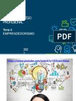 Tema 04 Emprendedorismo