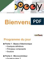 03 Bases d Electronique Soudure Microcontroleurs 2019 2020