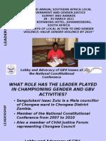 LEADERSHIP_presentation Cllr Sangulukani Zulu Chongwe Zambia_template_ajw_14030211[1]