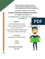 GRUPO N°8 INVERSIONES A LARGO PLAZO PARA EMPRESAS BANCO GENERAL RUMIÑAHUI (3)