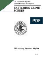 FBI Sketching Crime Scenes (Diagramming)