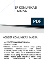 KONSEP KOMUNIKASI MASSA
