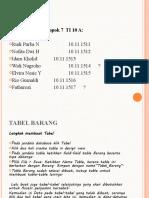 Presentasi Data Base