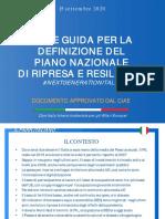Linee Essenziali Pnrr Italia