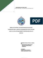 MODELO DE CONTROL DE GESTIÓN BASADO EN BALANCE SCORECARD PARA EL SERVICIO DE REINSERCIÓN SOCIAL DE SIGES CHILE S.A. EN EL ESTABLECIMIENTO PENITENCIARIO DE ALTO HOSPICIO