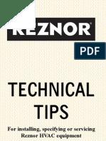 Technical Tips for HVAC