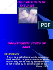 ODONTOGENIC CYSTS