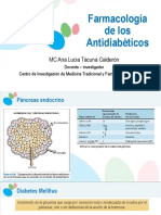 Farmacología de los antidiabéticos