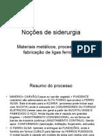 ALTO FORNO _ PROCESSOS