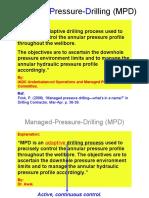 Managed-Pressure-Drilling (MPD)
