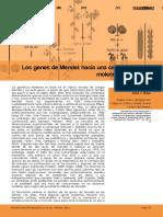 Los Genes de Mendel - Hacia Una Caracterizacio n Molecular Completa