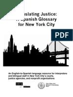 bilingual glossary (NYC Jusice)