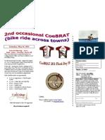 CoeBRAT 2011 Flyer