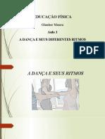 A Dança e Seus Diferentes Ritmos Aula 1