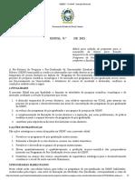 Edital Recem Doutor PROPPG 2021