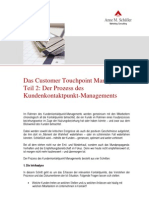 Das Customer Touchpoint Management Teil 2
