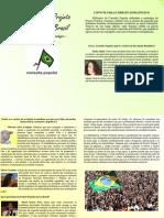 Projeto Popular - Convite Para o Debate Estrategico