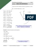 TD 23 corrigé - Modélisation des AM à distance (cas de la pesanteur)