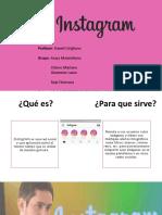 Presentación- instagram