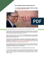 Bill Gates Financiou A Criação De Um ESTUDO