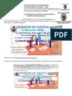 Rendicion Cuentas II2020 Grupo Logistica