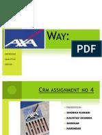 AXA WAY CRM