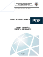 Historia da dança no Brasil