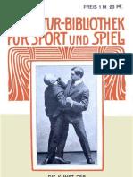 Vary E. Die Kunst Der SELBSTWEHR Auf Der Strasse Und Im Hause