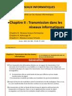 Chapitre2_Transmission dans les réseaux informatiques