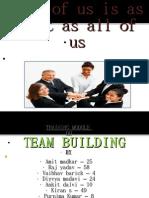 TEAM BUILDING_   T & D