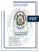 INFORME - CUENTA CORRIENTE !!!