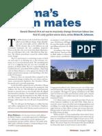 Obamas Union Mates 2009
