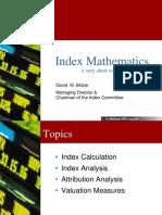 Index Mathematics 12-05