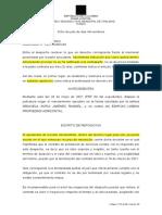2021-00383 RESUELVE REPOSICIÓN COTRA AUTO QUE NIEGA MANDAMIENTO CONTRATO PRESTACION SERVICIOS - NO REPONE