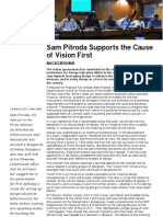 Final 2 Report of the Meeting With Sam Pitroda on the 18th March 2011