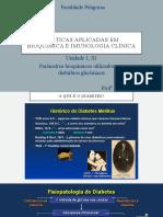 Práticas aplicadas em bioquímica e imunologia clínica