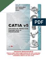 CATIA v5 Aplicatii de Proiectare Parametrica si Programare DEMO