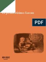 LACAN, J. El primerísimo Lacan [1933-53]