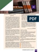 02 - INTERPRETAÇÃO DE TEXTO