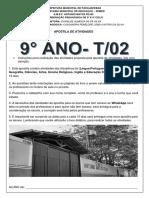 APOSTILA DO 9°ANO 02