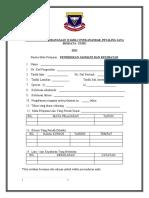 Borang Biodata Panitia