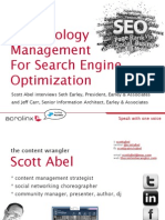 Terminology Management for Search Engine Optimization