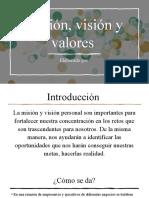 Misión, Visión y Valores Expo