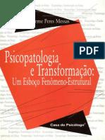 Livro Messas Psicopatologia e Transformacao