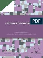 LeyendasyMitosUrbanos guia de recursos web y libros