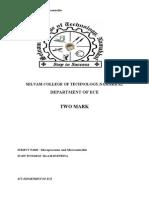 Microprocessor And Microcontroller Pdf