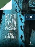 No Meu Peito Nao Cabem Passaros - Nuno Camarneiro