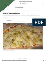 Pizza de liquidificador fácil _ Receitas _ Receitas