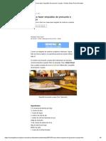 Como fazer empadão de presunto e queijo - Revista Globo Rural _ Receitas