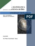 Zichichi, A. & Gagliardi, V. - Prova Matematica dell'Esistenza di Dio